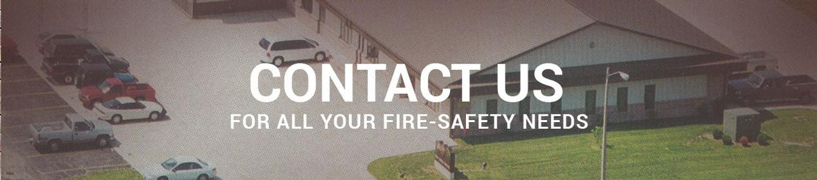 Banner for Contact Us page for AEC Fire